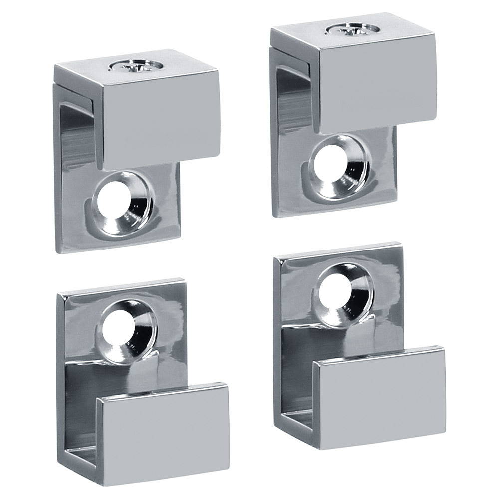 "5/8"" Wide Mirror Clips For 1/4"" (6mm) Mirrors"