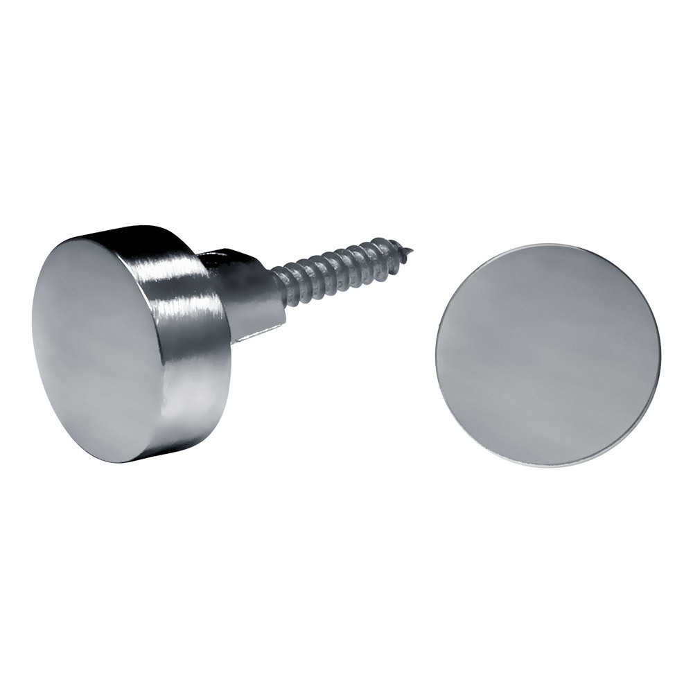 "3/4"" Round Mirror Clips For 1/4"" (6mm) Mirrors"