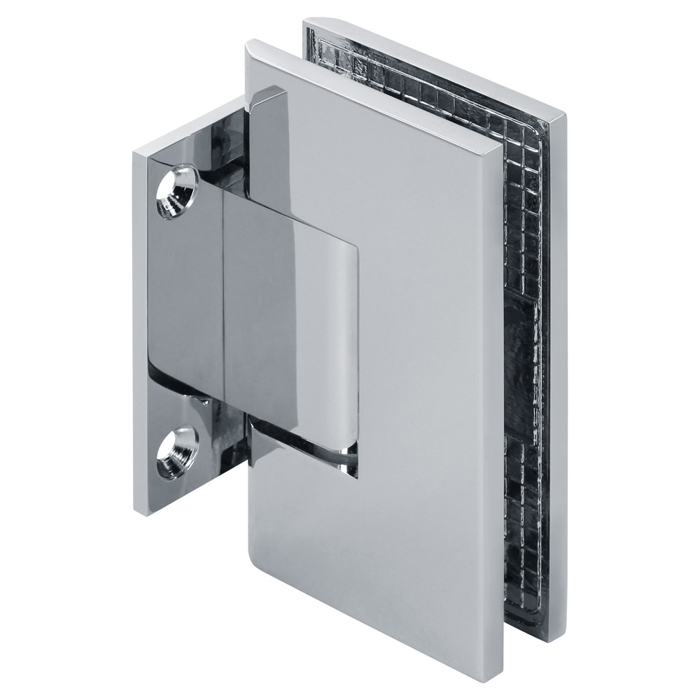 Venus Wall Mount Square Short Back Shower Hinge